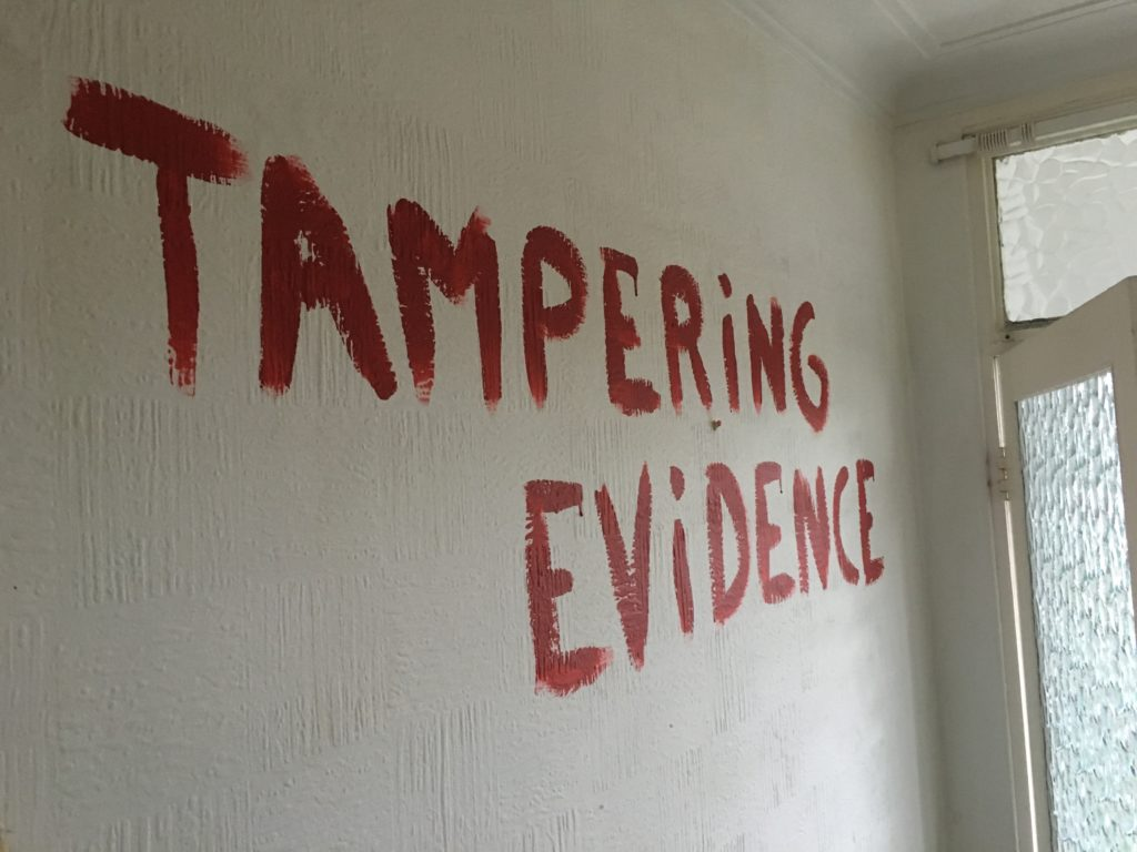 Jonathan Price of Doughty Street Chambers Tampers with Evidence