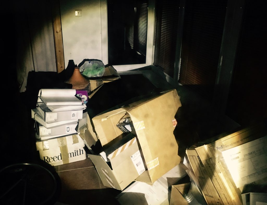 Boxes of boastful disclosure of censored comment threads from Andy Lewis remain