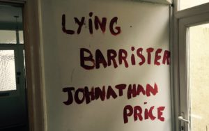 Jonathan Price, lying to enrich Doughty Street Chambers