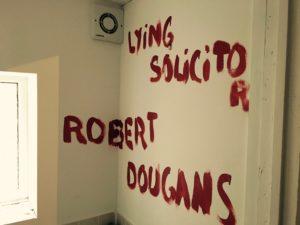 Robert Dougans, lying to enrich Bryan Cave